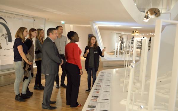 Visite découverte Galerie de l'Homme